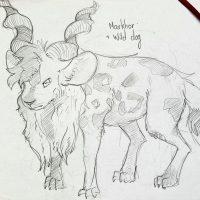 Eish – African Wild Dog + Markhor