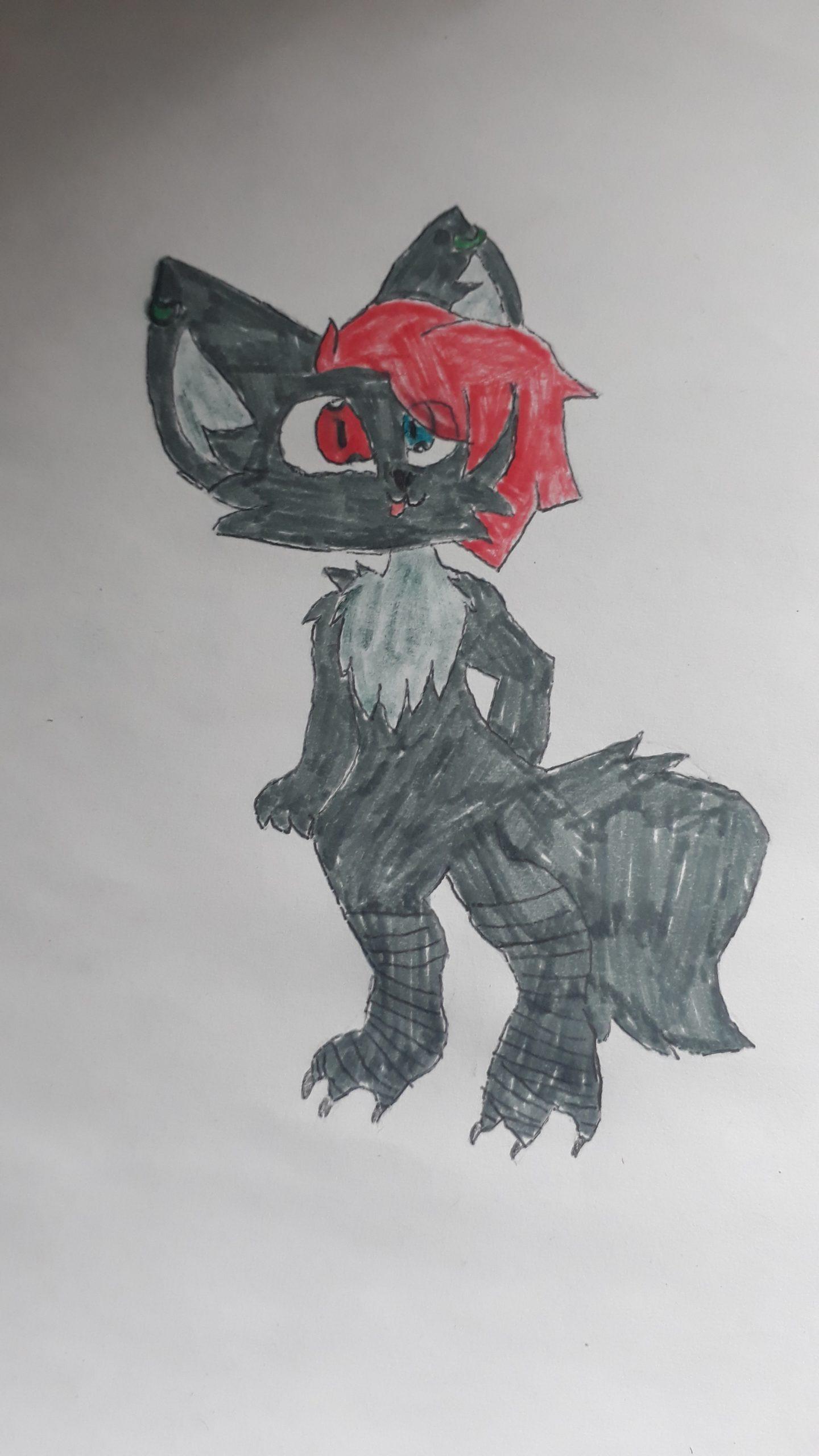 Judy la Husky dessine Lilyth